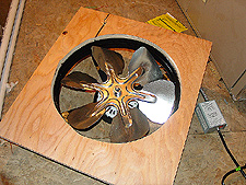 New attic fan