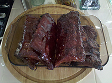 finshed ribs
