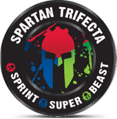 Spartan Trifecta completed June 2014