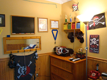 Hunter's room