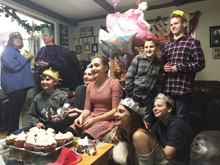 Olivia's 14th birthday